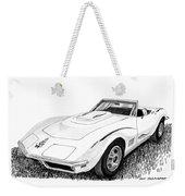 1968 Corvette Weekender Tote Bag