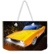 1968 Dodge Charger Coupe Weekender Tote Bag