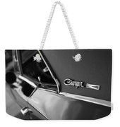 1968 Dodge Charger R/t Weekender Tote Bag