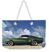 1968 Ford Bullitt Mustang Gt 390 Fastback, P-51 Mustang, Plymouth Rock Chicken Weekender Tote Bag