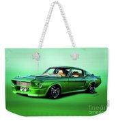 1968 Ford Mustang Fastback II Weekender Tote Bag