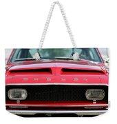 1968 Ford Mustang Shelby Gt500 Kr Weekender Tote Bag