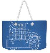 1968 Lift Truck Patent Weekender Tote Bag