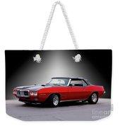 1968 Pontiac Firebird 400 Convertible Weekender Tote Bag