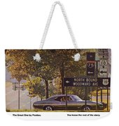 1968 Pontiac Gto - Woodward - The Great One By Pontiac Weekender Tote Bag