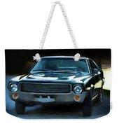 1969 Amx In Racing Green Weekender Tote Bag