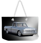 1969 Chevrolet C10 Pickup 'studio' 2 Weekender Tote Bag
