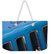 1969 Chevrolet Corvette Stingray Emblem Weekender Tote Bag