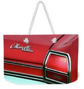1969 Chevy Chevelle Ss 396 Weekender Tote Bag