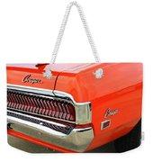 1969 Mercury Cougar Tail Light With Logos Weekender Tote Bag