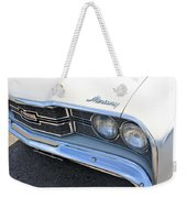 1969 Mercury Montego Mx Grille With Headlights And Logos Weekender Tote Bag