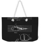 1969 Wood Golf Club Patent Weekender Tote Bag