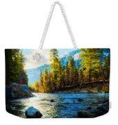 Nature Oil Painting Landscape Weekender Tote Bag