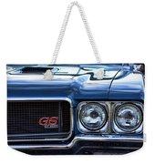 1970 Buick Gs 455 Weekender Tote Bag by Gordon Dean II