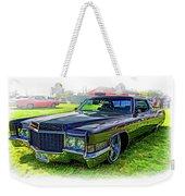1970 Cadillac Deville - Vignette Weekender Tote Bag