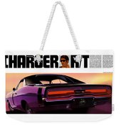 1970 Dodge Charger Rt Weekender Tote Bag