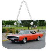 1970 Hemi Charger Rt Asher Weekender Tote Bag