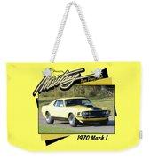 1970 Mach 1 Fellers Weekender Tote Bag