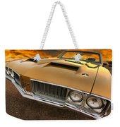 1970 Oldsmobile 442 W-30 Weekender Tote Bag
