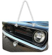 1970 Plymouth Barracuda 'cuda 440 Weekender Tote Bag