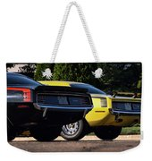 1970 Plymouth 'cuda 440 And Hemi Weekender Tote Bag