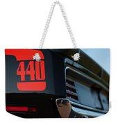 1970 Plymouth 'cuda 440 Weekender Tote Bag