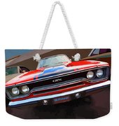 1970 Plymouth Gtx Vectorized Weekender Tote Bag