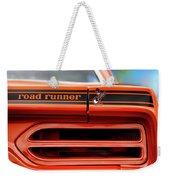 1970 Plymouth Road Runner - Vitamin C Orange Weekender Tote Bag