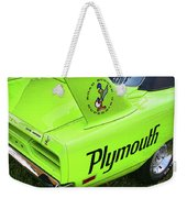 1970 Plymouth Superbird Weekender Tote Bag