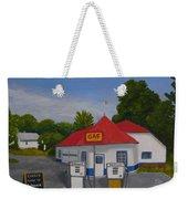 1970s Gas Station Weekender Tote Bag