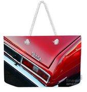 1971 Chevy Nova - Red Weekender Tote Bag