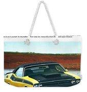 1971 Dodge Challenger T/a Weekender Tote Bag