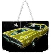 1971 Dodge Charger Superbee - Electric Weekender Tote Bag