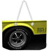 1971 Ford Mustang Mach 1 Weekender Tote Bag