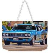 1971 Plymouth 'cuda 383 Weekender Tote Bag by Gordon Dean II