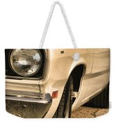 1971 Plymouth Duster 340 Four Barrel Weekender Tote Bag