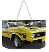 1972 Ford Mustang Mach 1 Weekender Tote Bag