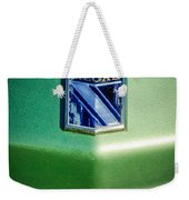 1973 Buick Regal Hood Ornament Weekender Tote Bag