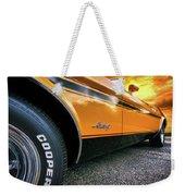 1973 Ford Mustang Weekender Tote Bag