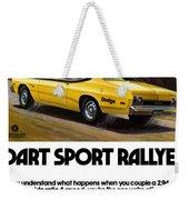 1974 Dodge Dart Sport Rallye Weekender Tote Bag