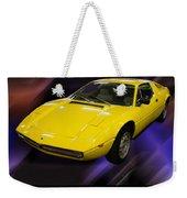 1974 Maserati Merak Weekender Tote Bag