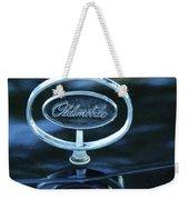 1975 Oldsmobile Hood Ornament Weekender Tote Bag