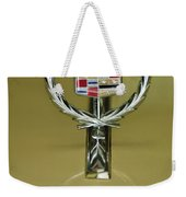 1976 Cadillac Eldorado Convertible Hood Ornament Weekender Tote Bag