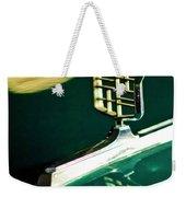 1976 Cadillac Fleetwood Hood Ornament Weekender Tote Bag