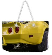 1976 Corvette Stingray Taillights Weekender Tote Bag