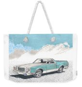1977 Ford Ranchero Weekender Tote Bag