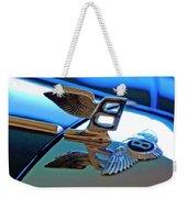 1980 Bentley Hood Ornament Weekender Tote Bag by Jill Reger