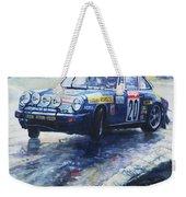 1980 Criterium Lucien Bianchi Porsche Carrera Keller Hoss #20 Weekender Tote Bag