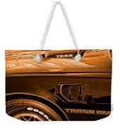 1980 Pontiac Trans Am Weekender Tote Bag