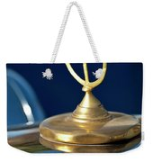 1984 Excalibur Roadster Hood Ornament Weekender Tote Bag